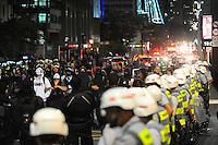 SAO PAULO, SP, 05.11.2013 - Marcha dos Mascarados na Av Paulista.  Adriano Lima / Brazil Photo Press)
