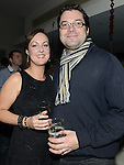 Alan and Sharon Costello pictured at Graham O'Rourke's 40th birthday in the d hotel. Photo:Colin Bell/pressphotos.ie