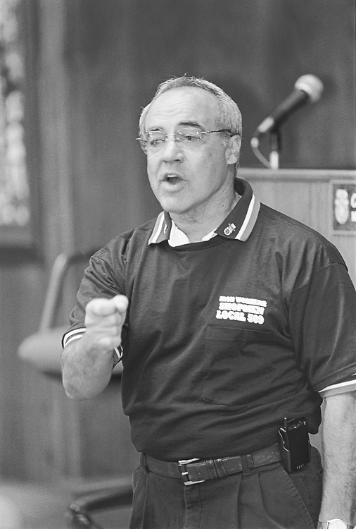 September 11, 1999: Calif. candidate Joe Baca campaigns for Senate.        Mark Martin/Special for Roll Call