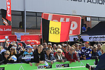 Big crowds at sign on before the 2019 E3 Harelbeke Binck Bank Classic 2019 running 203.9km from Harelbeke to Harelbeke, Belgium. 29th March 2019.<br /> Picture: Eoin Clarke | Cyclefile<br /> <br /> All photos usage must carry mandatory copyright credit (© Cyclefile | Eoin Clarke)