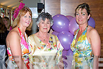 Enjoying the show at the Enable Ireland Lunch & Fashion Show on Friday at the Fels Point Hotel were l-r: Mary O'Neill, Vera Meehan and Karyn Moriarty.   Copyright Kerry's Eye 2008