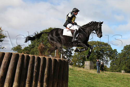 25.09.2010 Equestrian Aske Horse trials, North Yorkshire, UK. . James Adams riding Loumic Laphia .