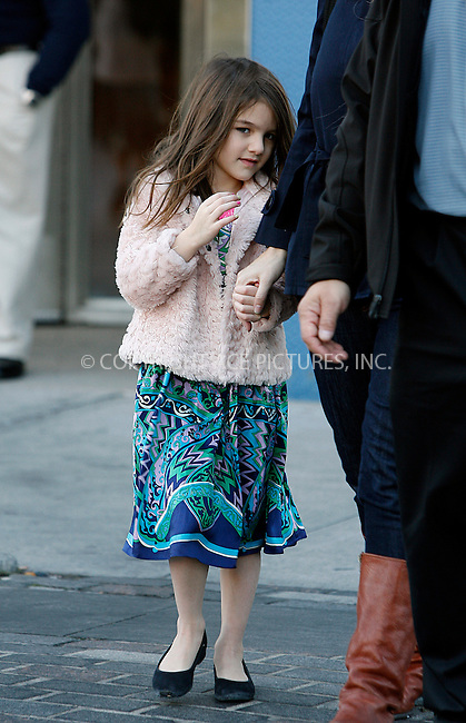 WWW.ACEPIXS.COM . . . . .  ....November 9 2011, New York City....Suri Cruise leaving Chelsea Piers with a nanny on November 9 2011 in New York City....Please byline: CURTIS MEANS - ACE PICTURES.... *** ***..Ace Pictures, Inc:  ..Philip Vaughan (212) 243-8787 or (646) 679 0430..e-mail: info@acepixs.com..web: http://www.acepixs.com