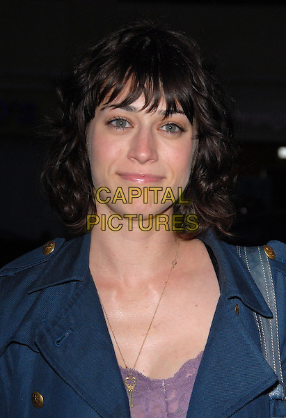 "LIZZY CAPLAN.Attends The Think Films'  L.A. Premiere of ""The TV Set"" held at The Crest Theatre in Westwood, California, USA. .March 27th, 2007.headshot portrait .CAP/DVS.©Debbie VanStory/Capital Pictures"