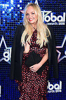 Emma Bunton<br /> arriving for the Global Awards 2018 at the Apollo Hammersmith, London<br /> <br /> ©Ash Knotek  D3384  01/03/2018