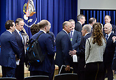 CEO's attend a town hall on the American business climate in the South Court Auditorium of the White House in Washington, DC, April 4, 2017.<br /> Credit: Olivier Douliery / Pool via CNP