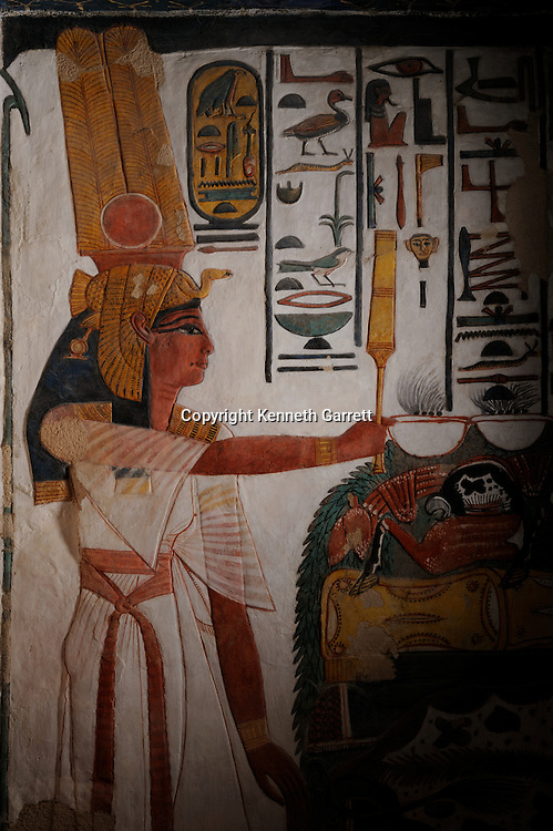 Zahi Hawass Secret Egypt Travel Guide; Egypt; archaeology; Luxor; West Bank; Valley of the Queens; Tomb of Nefertari,New Kingdom, Wife of Ramses II, Ramesses the Great