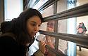 La plataforma Stop Desahucios (Guadalajara, España) se encierra en la sucursal del BBVA de Guadalajara, para impedir el desalojo de María una mujer de 74 años que avaló con su vivienda a su hijo ya desahuciado por este banco, la ocupación tuvo una duración de 12 horas para terminar con el desalojo por parte de la policía nacional, la que procedió a identificar y multar a los participantes de este acto solidario.