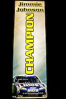 12/02/09: NASCAR Sprint Cup Series Champion Jimmie Johnson  during Day 2 of the NASCAR Sprint Cup Series Champions Week on December 3, 2009 in Las Vegas, Nevada.