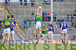 Johnny Buckley, Kerry in action against George Hennigan, Tipperary in the first round of the Munster Football Championship at Fitzgerald Stadium on Sunday.