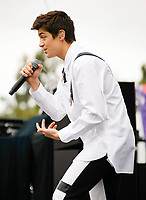 CARSON, CA - JUN 01  :  Asher Angel performs at the KIIS FM Wango Tango Village during the 2019 iHeartRadio Wango Tango at Dignity Health Sports Park on June 01, 2019 in Carson, California.    <br /> CAP/MPI/IS<br /> ©IS/MPI/Capital Pictures