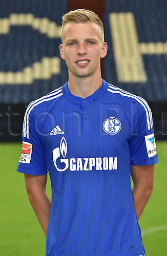 17.07.2015, Gelsenkirchen, Germany. Bundesliga season 2015-16 official squad portrait.  Marvin Friedrich (Schalke 04)