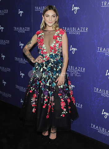 NEW YORK, NY - JUNE 22: Julia Michaels attend  Logo's 2017 Trailblazer Honors Awards show at Cathedral of St. John the Divine on June 22, 2017 in New York City. Photo by John Palmer/MediaPunch