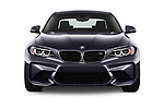 Car photography straight front view of a 2017 BMW M2 Base 2 Door Coupe