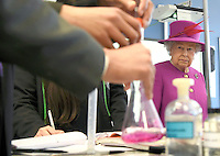 03 March 2016 - London, England - Queen Elizabeth the II smiles during a visit to the Lister Community School in London. Photo Credit: Alpha Press/AdMedia