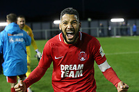 O's JObi McAnuff at FT during AFC Fylde vs Leyton Orient, Vanarama National League Football at Mill Farm on 3rd November 2018