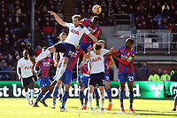 Harry Kane of Tottenham Hotspur and Christian Benteke of Crystal Palace during Crystal Palace vs Tottenham Hotspur, Premier League Football at Selhurst Park on 25th February 2018