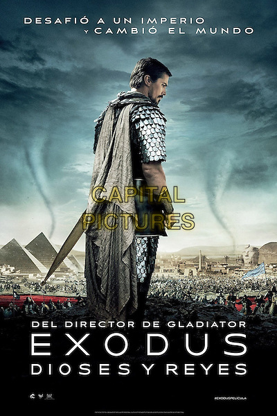 POSTER ART<br /> in Exodus: Gods and Kings (2014) <br /> *Filmstill - Editorial Use Only*<br /> CAP/NFS<br /> Image supplied by Capital Pictures