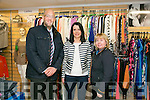 At the  official  Opening of St Vincent De Paul Shop Vincent's on Monday were Mark Hussey, Regional Mgr, Maeve Leahy, Manager and Catherine Quill, Manager