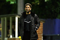 Brentwood manager Ryan O'Rawe during Romford vs Brentwood Town, Velocity Trophy Football at the Brentwood Centre on 8th October 2019