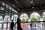 La Stazione di Porta Nuova. Porta Nuova, the main railway station in Torino.