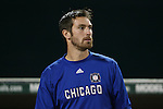01 November 2007: Chicago's Matt Pickens. The Chicago Fire tied DC United 2-2 in the second leg of their Major League Soccer Eastern Conference Semifinal playoff series at RFK Stadium in Washington, DC. The Fire advanced to the next round, winning the series 3-2 on aggregate goals.