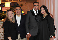 NWA Democrat-Gazette/CARIN SCHOPPMEYER Maria and Alex Solis (from left) and Daniel and Brenda Boone attend Big Night.