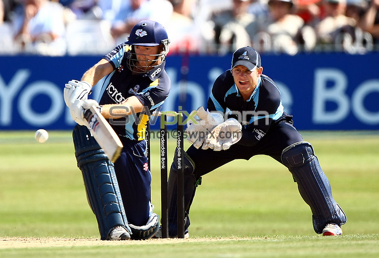 PICTURE BY VAUGHN RIDLEY/SWPIX.COM...Cricket - CB40 - Yorkshire v Sussex - North Marine Road, Scarborough, England - 21/08/11...Yorkshire's Adam Lyth.