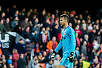 Goalkeeper Norberto Murara Neto of Valencia CF reacts during the La Liga 2017-18 match between Valencia CF and Villarreal CF at Estadio de Mestalla on 23 December 2017 in Valencia, Spain. Photo by Maria Jose Segovia Carmona / Power Sport Images