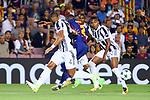 UEFA Champions League 2017/2018 - Matchday 1.<br /> FC Barcelona vs Juventus Football Club: 3-0.<br /> Medhi Benatia vs Nelson Semedo.