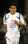 12 September 2007: Mexico's Carlos Salcido. The Brazil Men's National Team defeated the Mexico Men's National Team 3-1 at Gillette Stadium in Foxborough, Massachusetts in an international friendly.