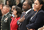 Nevada Assemblyman Jason Frierson, D-Las Vegas, participates in opening day ceremonies at the Legislature in Carson City, Nev. on Monday, Feb. 7, 2011. .Photo by Cathleen Allison