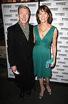 Byron Jennings and Carolyn McCormick attending the Broadway Opening Night Performance of 'The Mystery of Edwin Drood' at Studio 54 in New York City on 11/13/2012