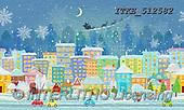 Isabella, CHRISTMAS LANDSCAPES, WEIHNACHTEN WINTERLANDSCHAFTEN, NAVIDAD PAISAJES DE INVIERNO, paintings+++++,ITKE512582,#xl#