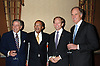 Tony Bennett, Henry Louis Gates, Jr, Steven Rattner and ..William Harrison ..at The Thirteen/WNET & WLIW 13th Annual Gala Salute..on June 13, 2006 at Gotham Hall. The honorees were, Tony Bennett, Henry Louis Gates, Jr and William Harrison. ..Robin Platzer, Twin Images