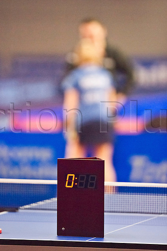 29.01.2011 English Open ITTF Pro Tour Table Tennis from the EIS in Sheffield. Out of time!