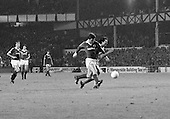 26/08/1980 Everton v Blackpool League Cup 2nd Round 1st Leg .Paul Fletcher blocked....© Phill Heywood.