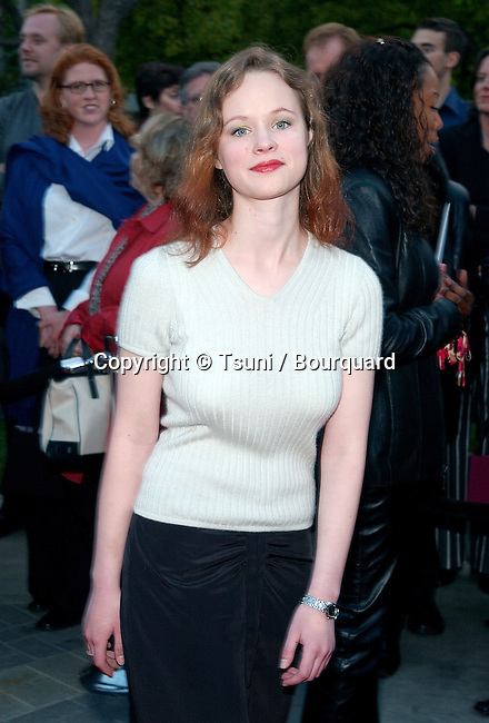 """Thora Birch arriving at the premiere of """" Changing Lanes"""" on the Paramount Lot Theatre in Los Angeles. April 7, 2002.           -            BirchThora01CA.jpg"""