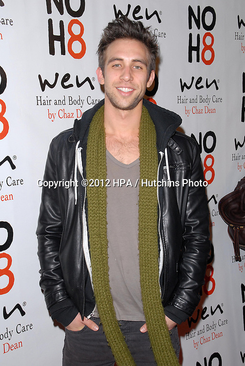 LOS ANGELES - DEC 12:  Blake Berris arrives to the NOH8 4th Anniversary Party at Avalon on December 12, 2012 in Los Angeles, CA