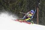 10.03.2018, Ofterschwanger Horn, Ofterschwang, GER, Slalom Weltcup in Ofterschwang, im Bild Mikaela Shiffrin (USA, #4)<br /> <br /> Foto &copy; nordphoto / Hafner
