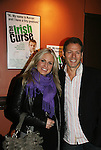 As The World Turns' Terri Colombino poses with Kevin Spirtas (Days) at the Opening Night of the off-Broadway play The Irish Curse on March 28, 2010 at the Soho Playhouse, New York City, New York. (Photo by Sue Coflin/Max Photos)