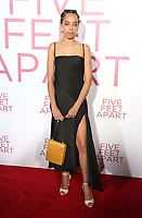 07 March 2019 - Westwood, California - Hayley Law. &quot;Five Feet Apart&quot; Los Angeles Premiere held at the Fox Bruin Theatre. <br /> CAP/ADM/FS<br /> &copy;FS/ADM/Capital Pictures