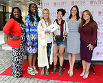 "COCONUT GROVE, FL - MARCH 30: Marchet McWhite; Yvonne Mccormack Lyons; Mercedes Ortega Vega; Pamela Hersch, Cecilla Peck and Michele Gillen attend the Women's International Film Festival 2014 - Brunch and the screening of ""Brave Miss World"" also received the awards for the best films of the festival on March 30, 2014 in Coconut Grove, Florida. (Photo by Johnny Louis/jlnphotography.com)"