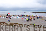 At the The Brandon Bay half marathon and 10k run, Ireland's first and only running event entirely run on a beach,  in the Maharees, Castlegregory,  on Saturday