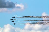 Thunderbirds flyover, Daytona 500, NASCAR Sprint Cup Series, Daytona International Speedway, Daytona Beach, FL