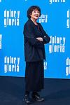 The actress Julieta Serrano attends the photocall of the movie 'Dolor y gloria' in Villa Magna Hotel, Madrid 12th March 2019. (ALTERPHOTOS/Alconada)