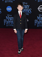 29 November 2018 - Hollywood, California - Iain Armitage. &quot;Mary Poppins Returns&quot; Los Angeles Premiere held at The Dolby Theatre.   <br /> CAP/ADM/BT<br /> &copy;BT/ADM/Capital Pictures