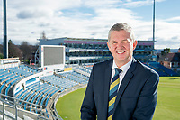 Picture by Allan McKenzie/SWpix.com - 09/02/18 - Cricket - Yorkshire County Cricket Club Corporate Headshots - Headingley Cricket Ground, Leeds, England - Mark Arthur.