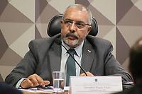 BRASÍLIA, DF, 04.07.2019 - POLÍTICA-DF - Paulo Paim, Senador PT/RS, Presidente, participa de audiência pública da Comissão de Direitos Humanos e Legislação Participativa do Senado Federal, nesta quinta-feira, 4. ( Foto Charles Sholl/Brazil Photo Press/Folhapress)