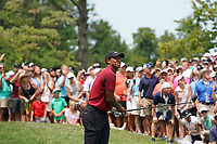 Tiger Woods (USA) tees off on the 4th hole during the final round of the 100th PGA Championship at Bellerive Country Club, St. Louis, Missouri, USA. 8/12/2018.<br /> Picture: Golffile.ie | Brian Spurlock<br /> <br /> All photo usage must carry mandatory copyright credit (&copy; Golffile | Brian Spurlock)
